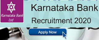 Sarkari Job Alert: Karnataka Bank Recruitment 2020 For Head Posts | Sarkari Jobs Adda 2020