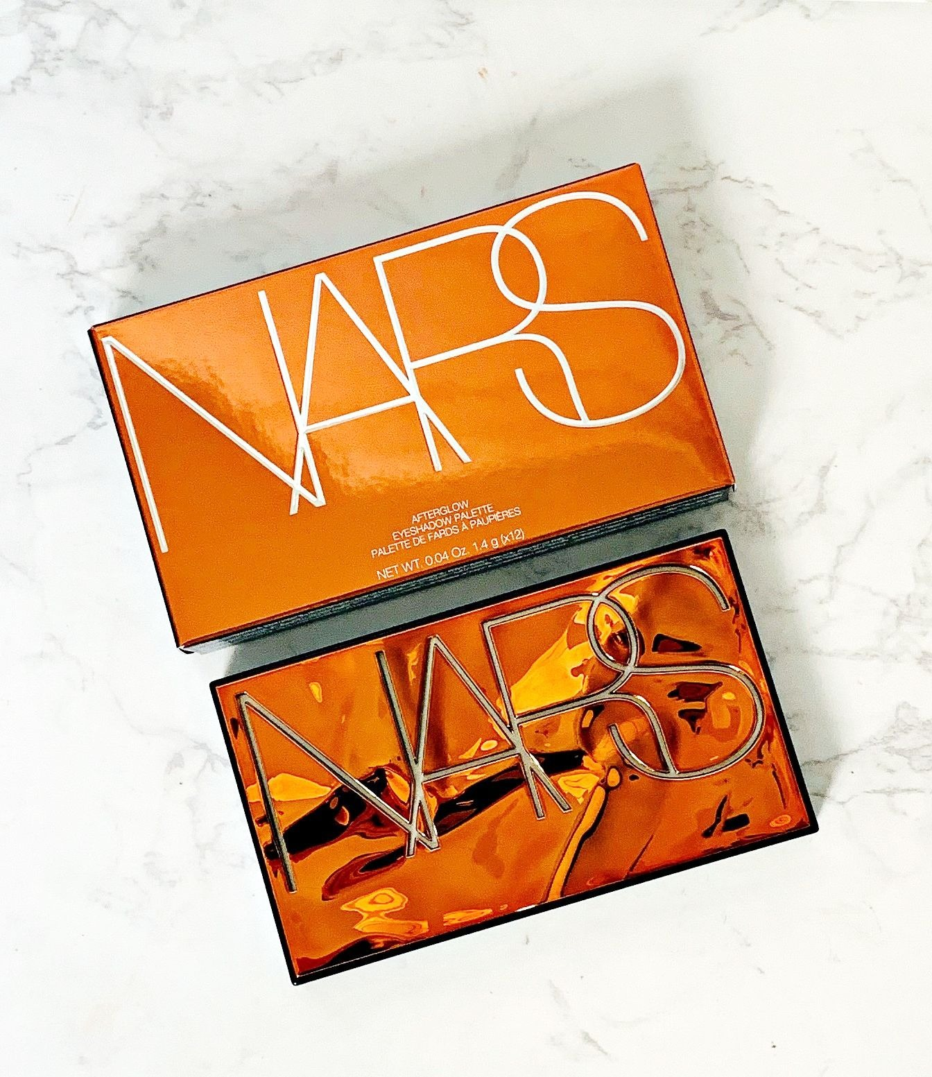 Nars Afterglow Palette review & Swatches