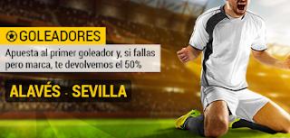 bwin promocion goleador del día Alavés vs Sevilla 6 marzo
