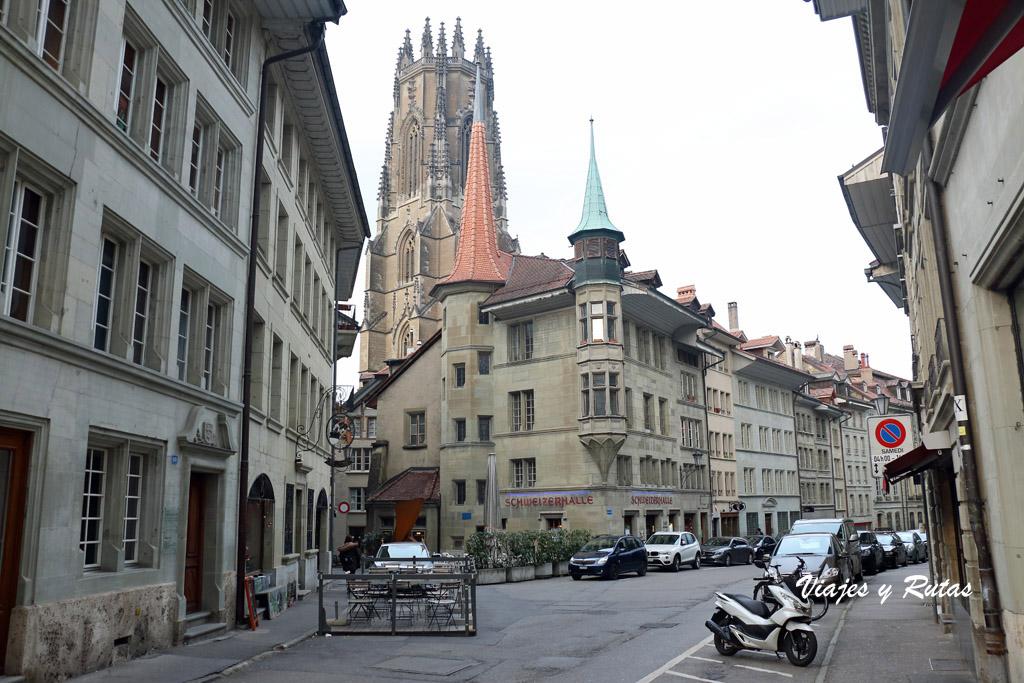 Qué ver en Friburgo, l¡la Grand Rue