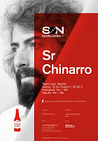Concierto de Sr. Chinarro en Teatro Lara