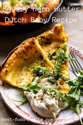 Savory Herb Butter Dutch Baby Recipe