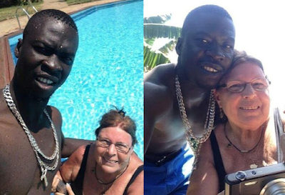 young black man and his elderly white lover Photos  goes viral on social media