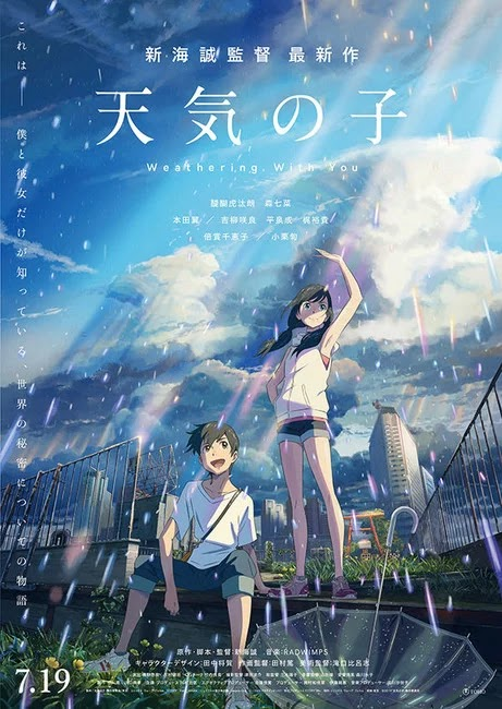 Visual Terbaru Film Weathering With You (Tenki no Ko)
