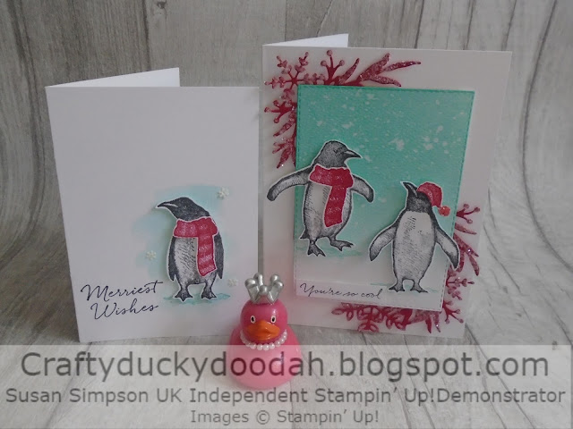 Craftyduckydoodah, Playful Penguins, Christmas 2019, StampinUp! UK Independent Demonstrator Susan Simpson, Supplies available 24/7 from my online store