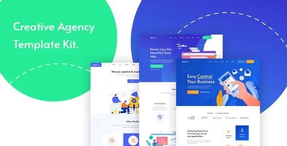 Best App Landing & Startup Elementor Template Kit