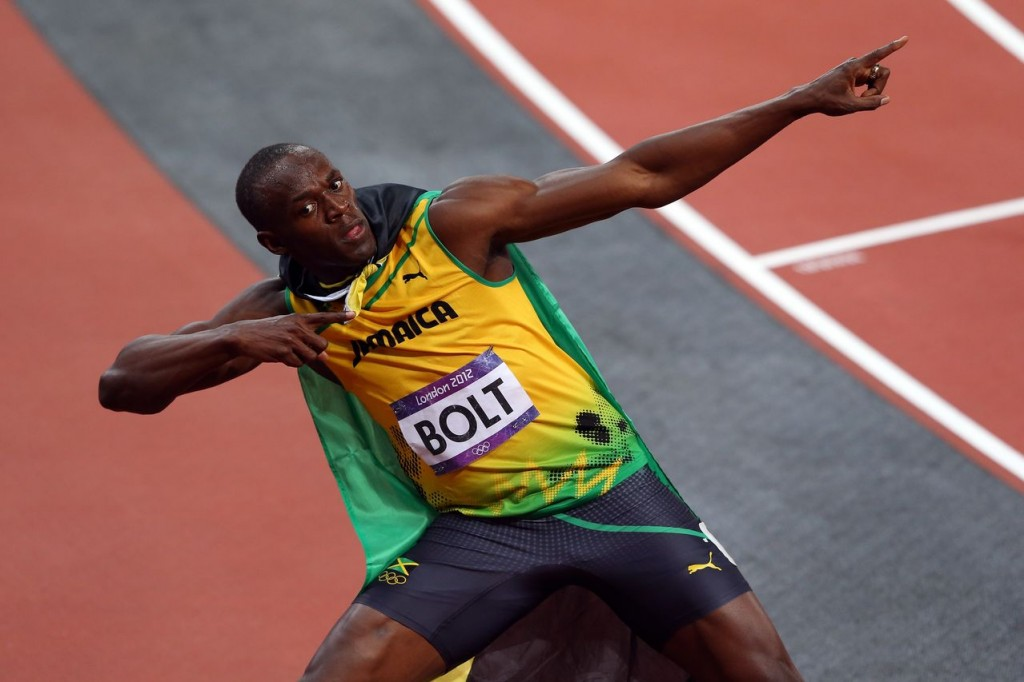 Usain Bolt Wins Olympics Gold for 100-meter dash