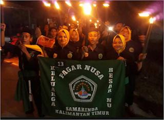 Pawai Obor Pagar Nusa Kalimantan Timur | Infopagarnusa.com