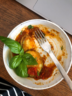 Zucchetti-Picata mit Tomatensugo #madebylelo