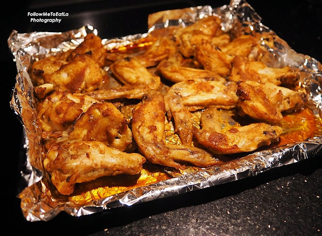 Classic Spicy Garlic & Ginger Roast Chicken Wings