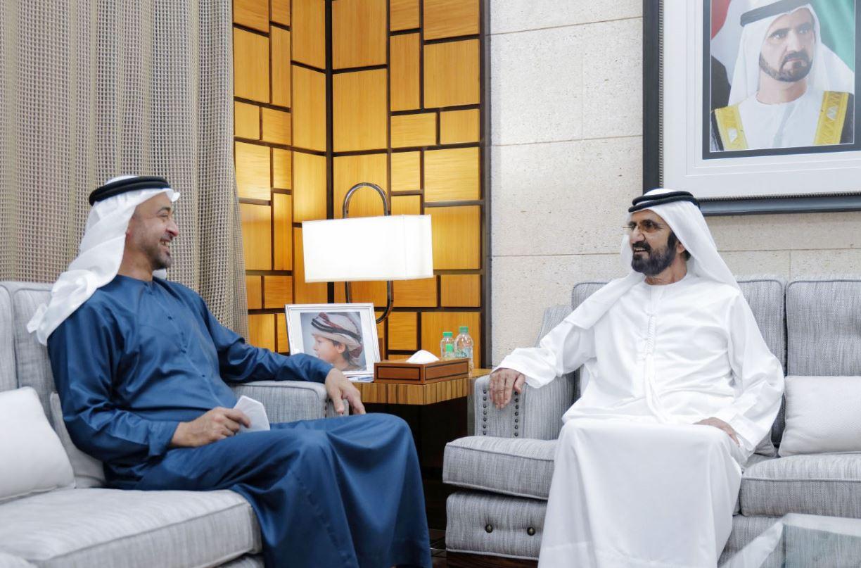محمد بن راشد يلتقي محمد بن زايد في دبي Dubai لبحث جهود الدولة لتوفير أفضل مقومات الحياة الكريمة للمواطنين والمقيمين