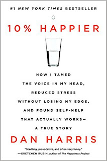 """Adult Book Group Reads """"10% Happier"""" for March 2 or 7, 2018"""
