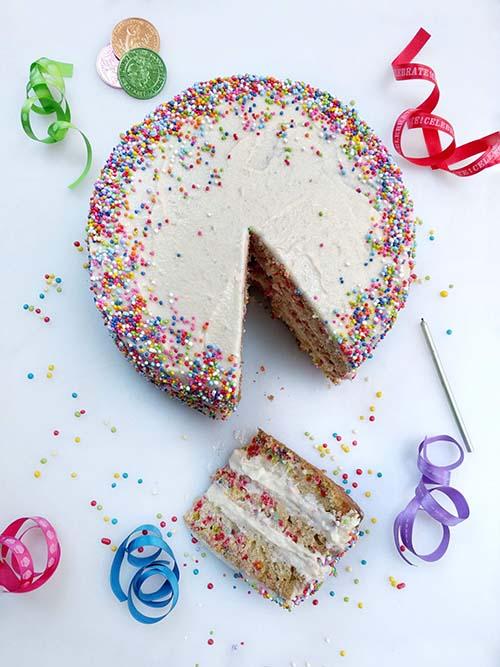 Torta funfetti de Baked