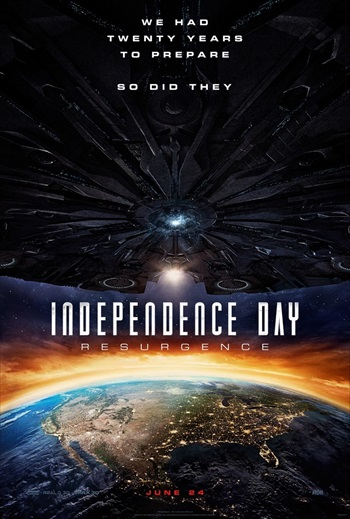 Independence Day Resurgence 2016 English 720p WEB-DL 900MB ESubs