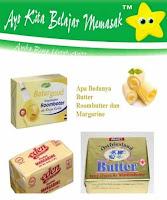 Apa Bedanya Butter dengan Mentega Margarine