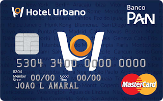 Cartão Hotel Urbano PAN MasterCard Internacional