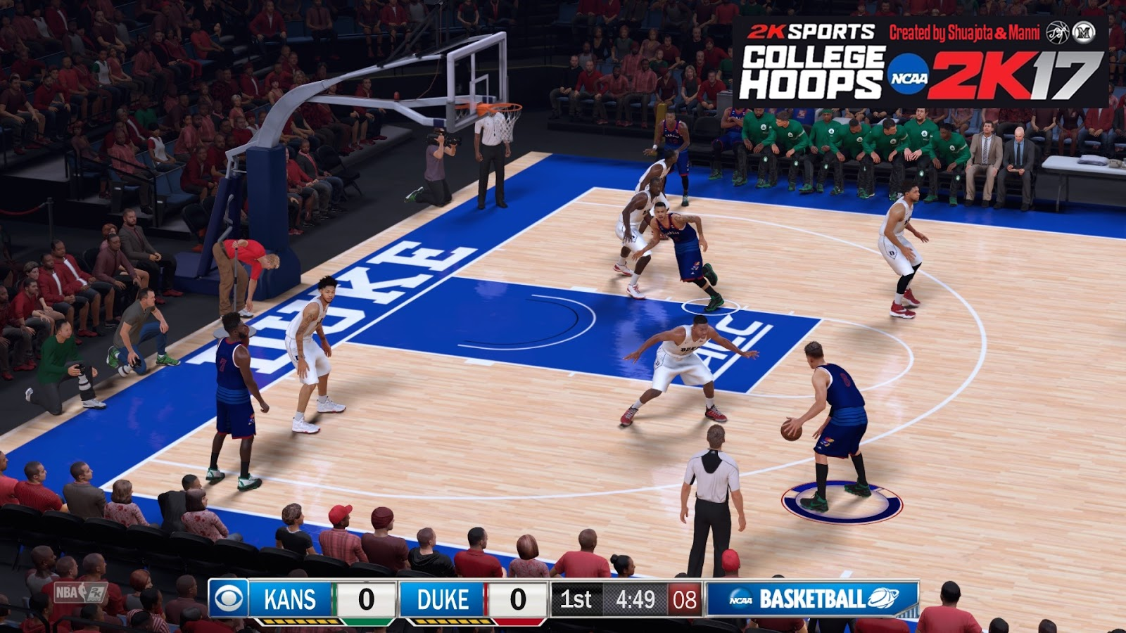 College Hoops 2K17 (Coming Soon) - NBA 2K17 at ModdingWay