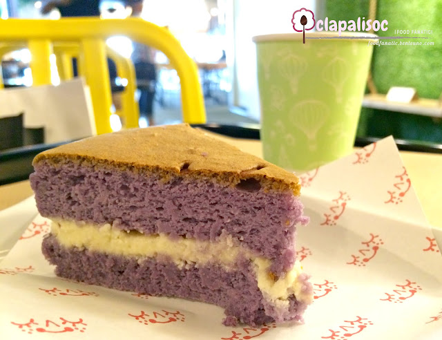 Green Cheese Taro Cheesecake
