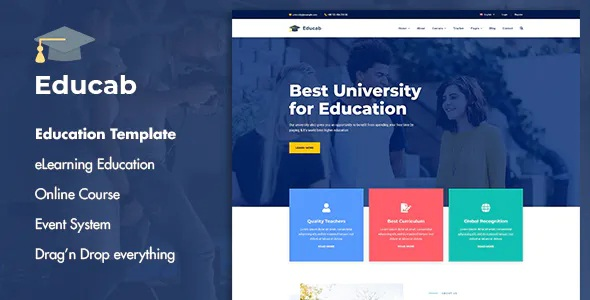 Best University Education Joomla Template