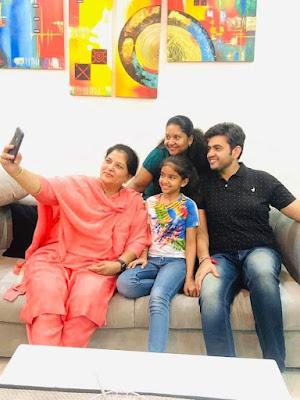 sonu sharma Family