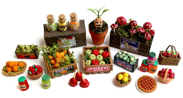 Magical Fruit Stand - Nichola Battilana - pixiehill.com