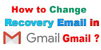 How to Change Recovery Email Address in Gmail?