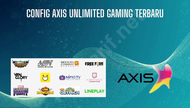 config axis unlimited gaming terbaru