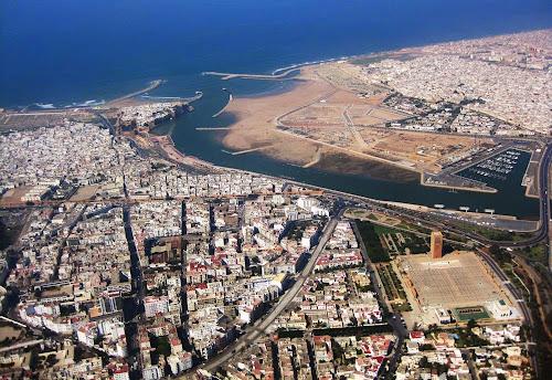 vista aérea de Rabat