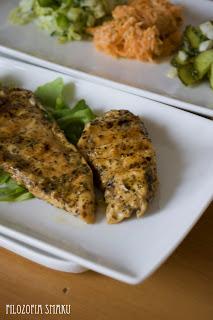 (Kurczak marynowany w sosie vinaigrette