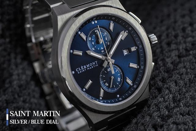 Antoine Clérmont Saint Martin blue