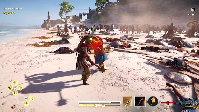 Ubisoft E3 2018 conference Assassin's Creed Odyssey Trouble in Paradise Diokles boss fight