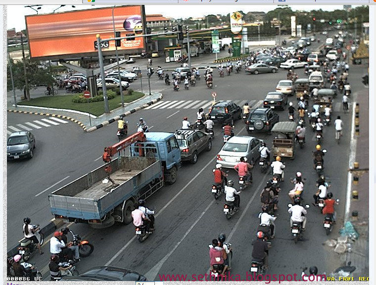 Badly Congested, Phnom Penh Battles With Traffic Jams