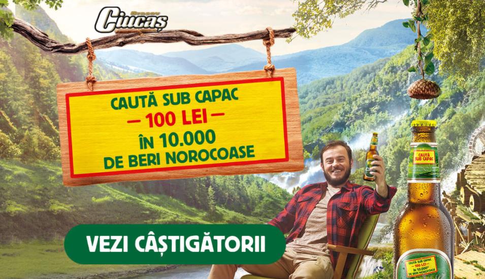 Concurs - Castiga premiile Ciucas - 2021 - concursuri - online - bere - bani - castiga.net