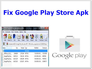 Fix Google Play Store Apk