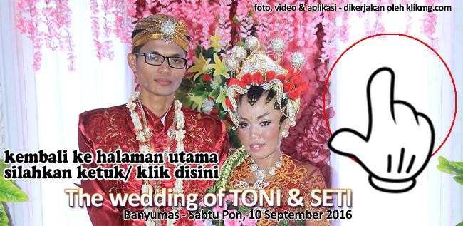 Wedding SETI & TONI