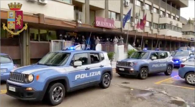 """Operazione """"Ultimo Avamposto II"""" Squadra Mobile e SCO, 200 i poliziotti in azione [NOMI e VIDEO]"""