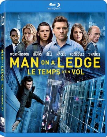 Man on a Ledge (2012) Dual Audio Hindi 720p BluRay 700MB ESubs