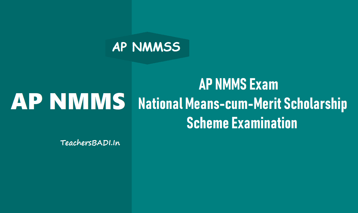 Ap Nmms Exam 2018 National Means Cum Merit Scholarship Scheme