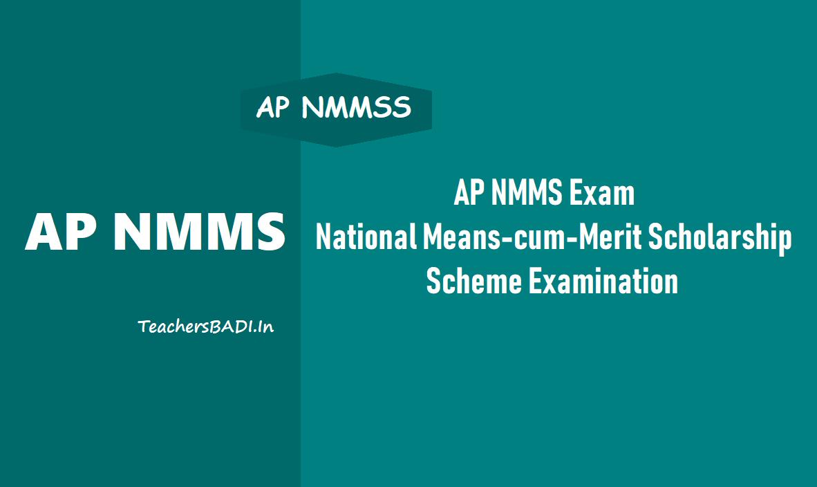 AP NMMS Exam 2019 National Means-cum-Merit Scholarship Scheme
