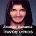 Zouhair Bahaoui - FAVOR LYRICS