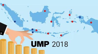 Daftar Beberapa Provinsi Dengan UMP 2018 Tertinggi Hingga Terendah