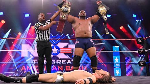 WWE pretendia transformar Adam Cole no manager de Keith Lee