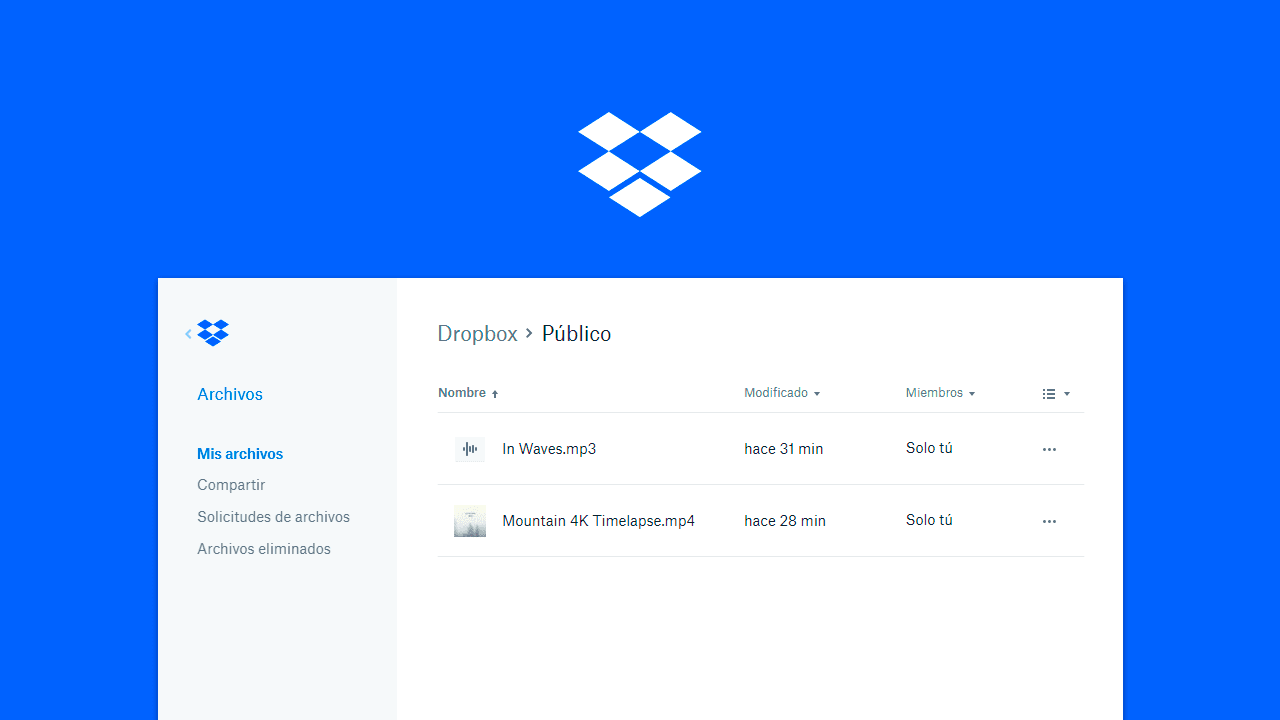 Como crear enlaces de descarga directa en Dropbox
