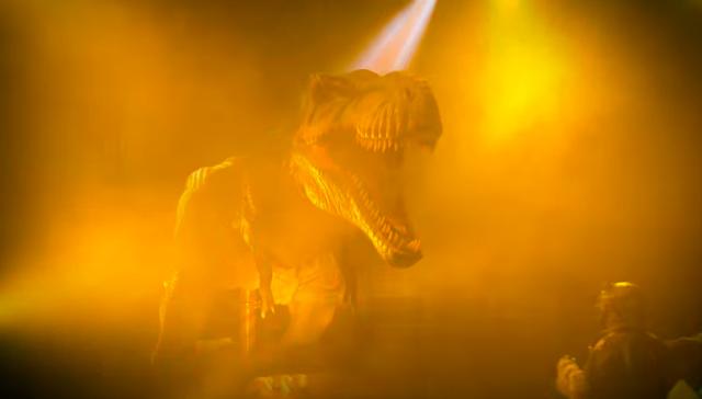 mundo de dinosaurios precio feria del caballo