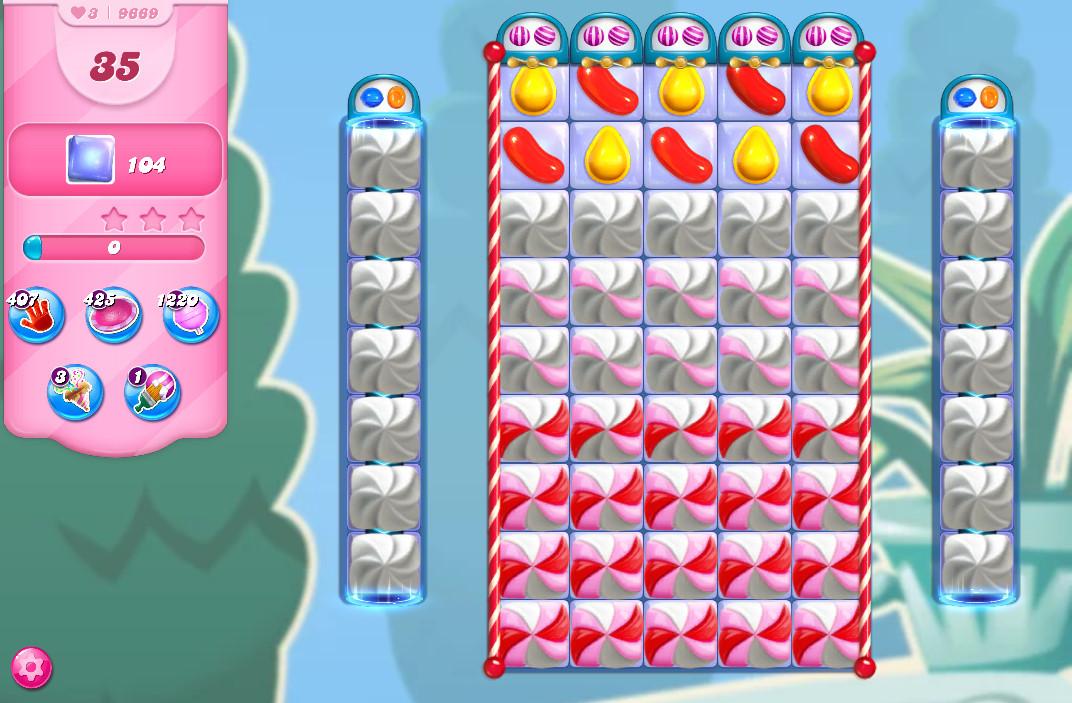 Candy Crush Saga level 9669