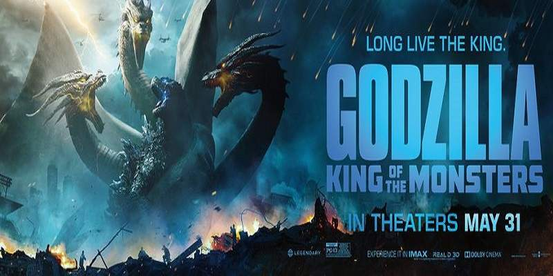 Godzilla 2 - King of the Monsters Movie Review Poster
