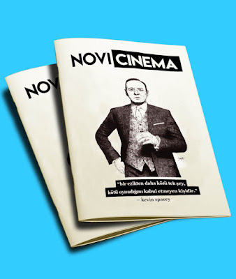 Novicinema Fanzin 1. Sayı (Ekim) - Kevin Spacey