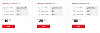 WeekendDeal Unlimited Call