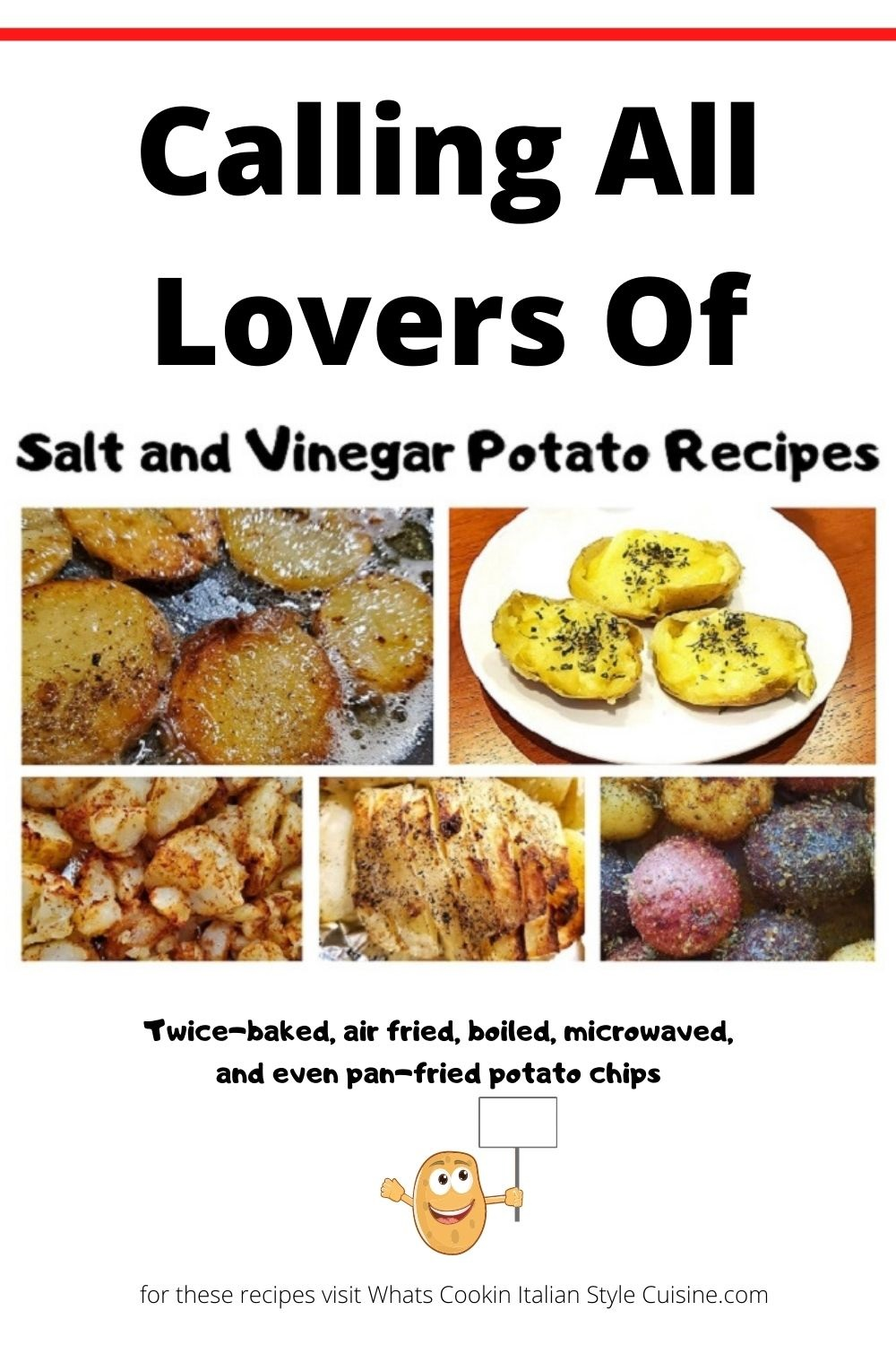 this is a pin for later on how to make salt and vinegar potatoes