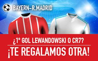 sportium Promo Bayern vs Real Madrid 25 abril